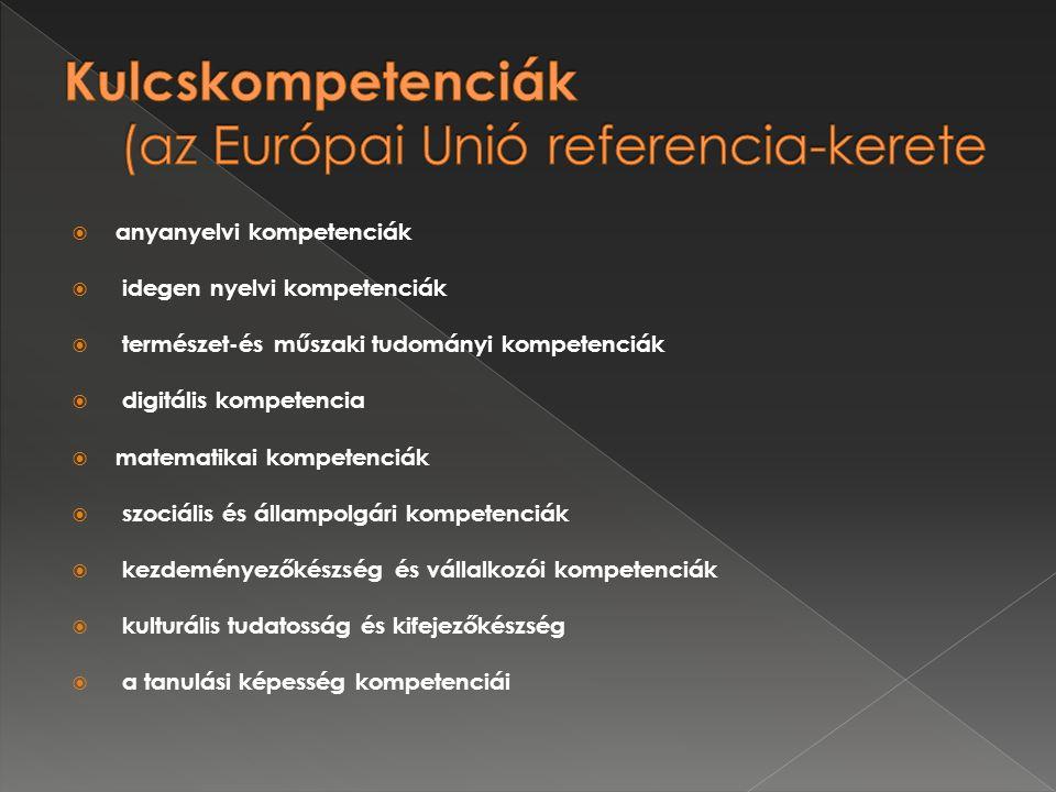 Kulcskompetenciák (az Európai Unió referencia-kerete
