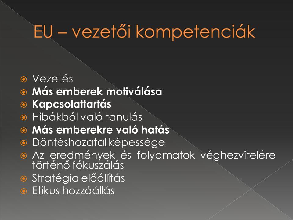EU – vezetői kompetenciák