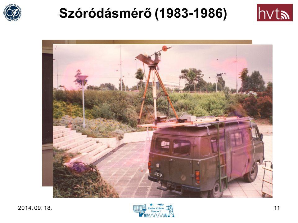 Szóródásmérő (1983-1986) 2017.04.05.