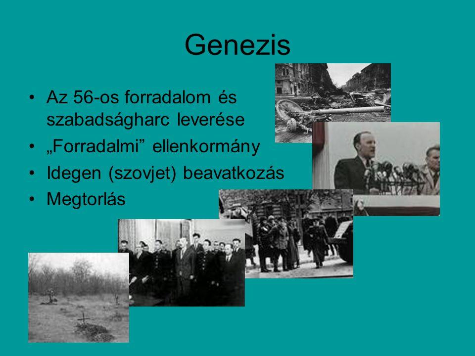 Genezis Az 56-os forradalom és szabadságharc leverése