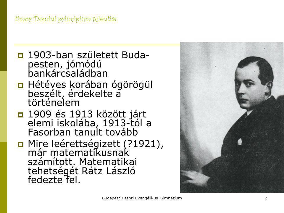 Budapest Fasori Evangélikus Gimnázium