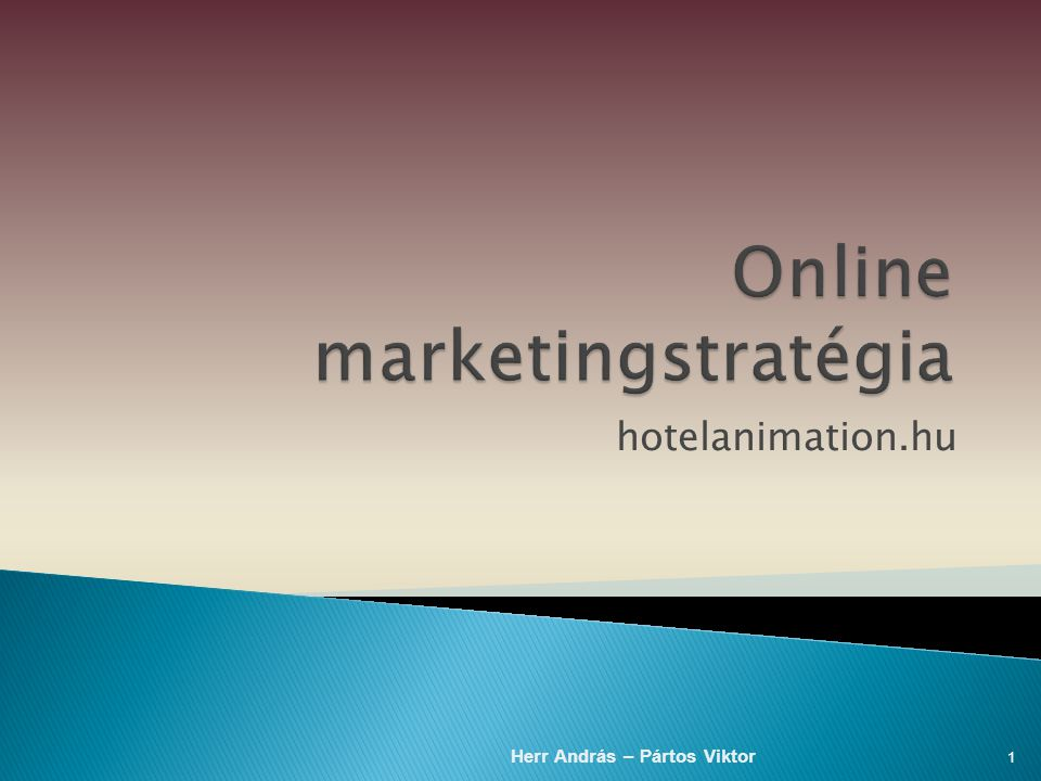 Online marketingstratégia