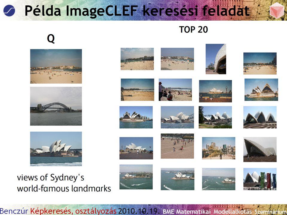 Példa ImageCLEF keresési feladat