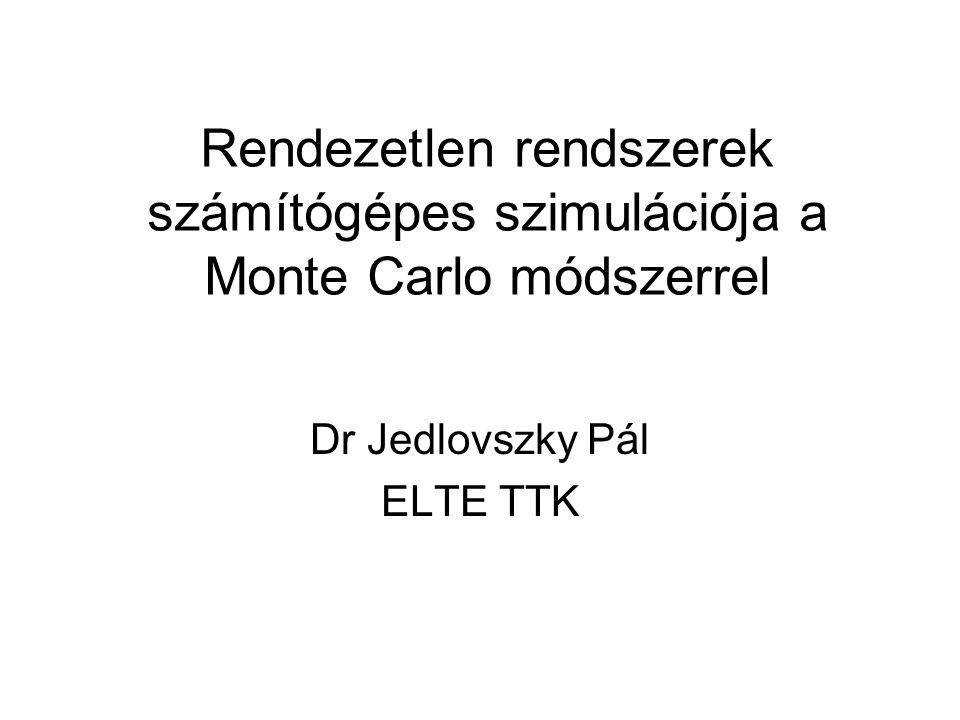 Dr Jedlovszky Pál ELTE TTK