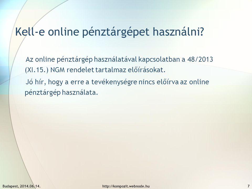 Kell-e online pénztárgépet használni