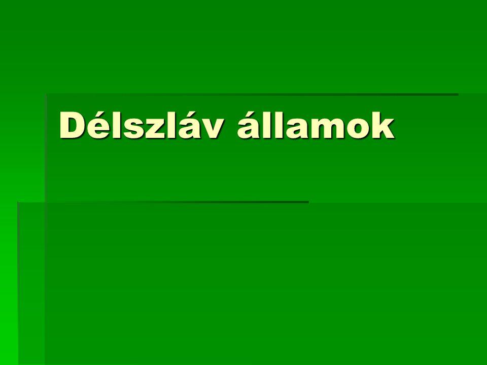 Délszláv államok