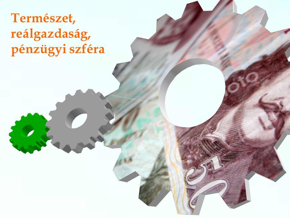 Természet, reálgazdaság, pénzügyi szféra