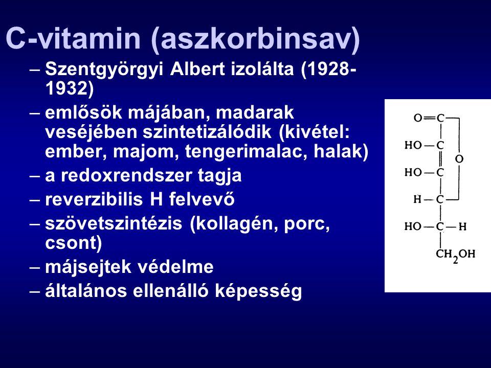 C-vitamin (aszkorbinsav)