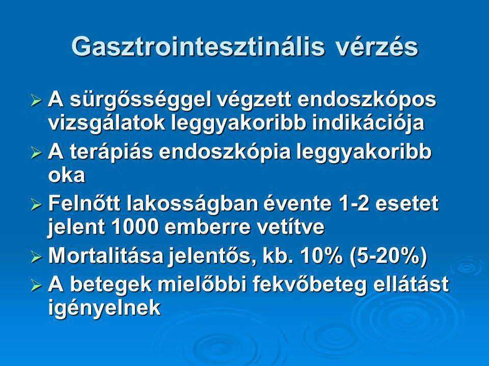 Gasztrointesztinális vérzés