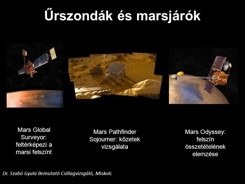 Űrszondák és marsjárók