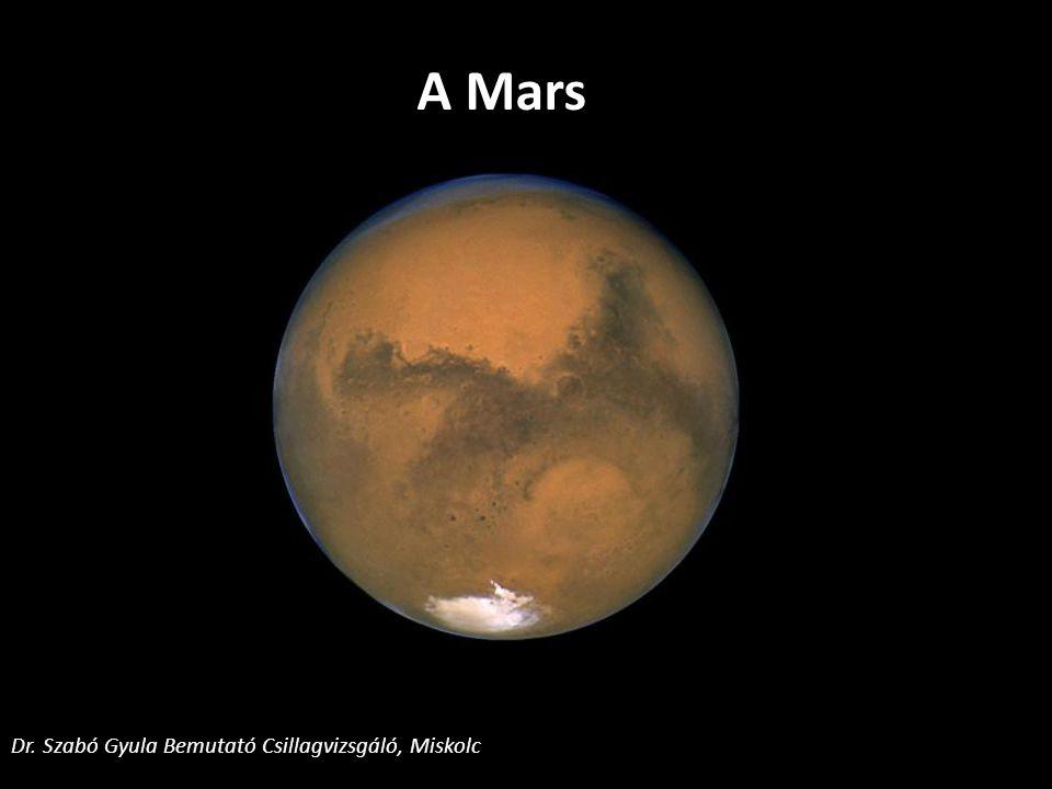 A Mars Dr. Szabó Gyula Bemutató Csillagvizsgáló, Miskolc