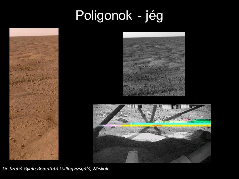 Poligonok - jég Dr. Szabó Gyula Bemutató Csillagvizsgáló, Miskolc