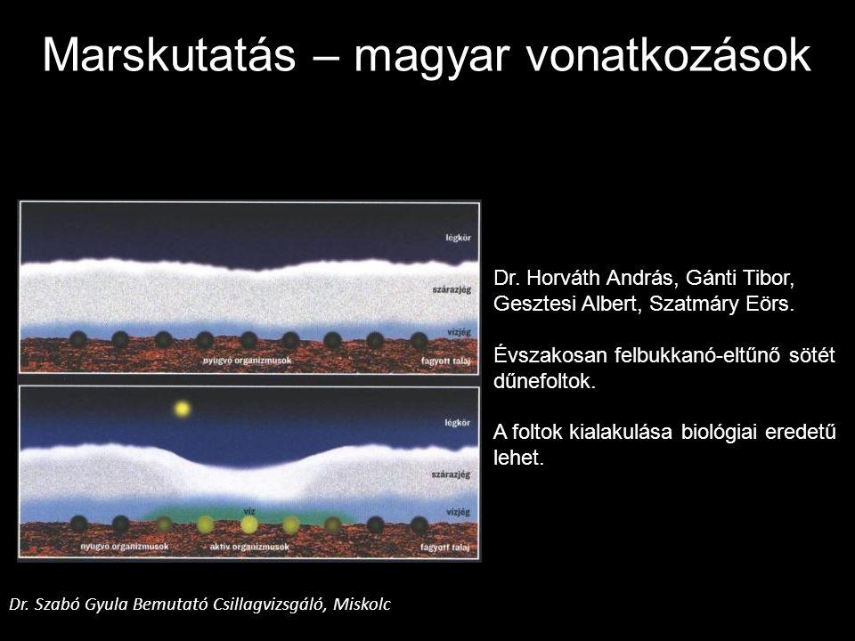 Marskutatás – magyar vonatkozások
