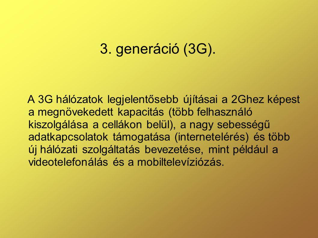 3. generáció (3G).