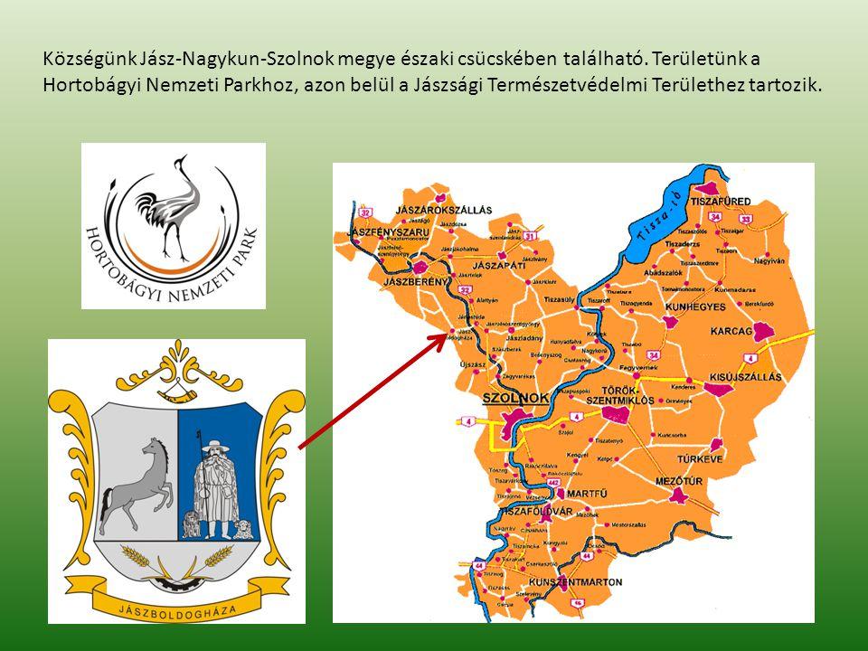 Községünk Jász-Nagykun-Szolnok megye északi csücskében található