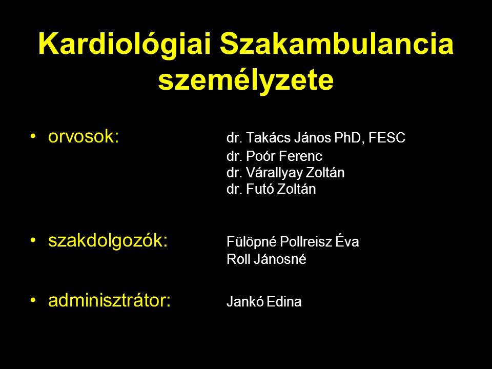 Kardiológiai Szakambulancia személyzete