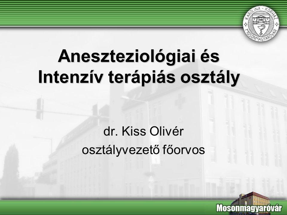 Aneszteziológiai és Intenzív terápiás osztály