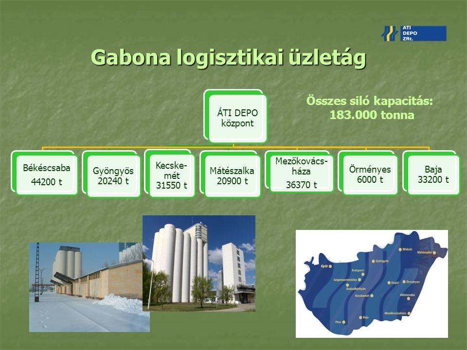 Gabona logisztikai üzletág