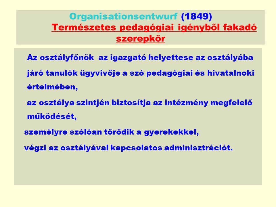 Organisationsentwurf (1849)