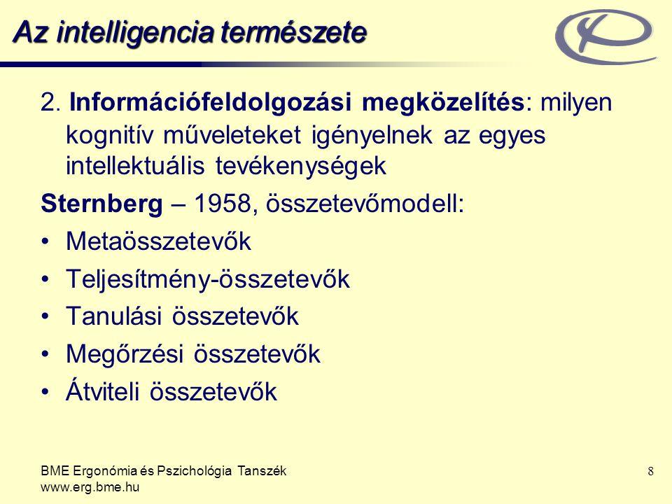 Az intelligencia természete