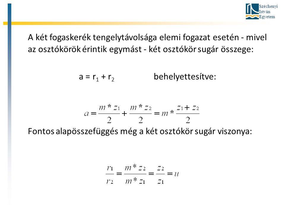 a = r1 + r2 behelyettesítve: