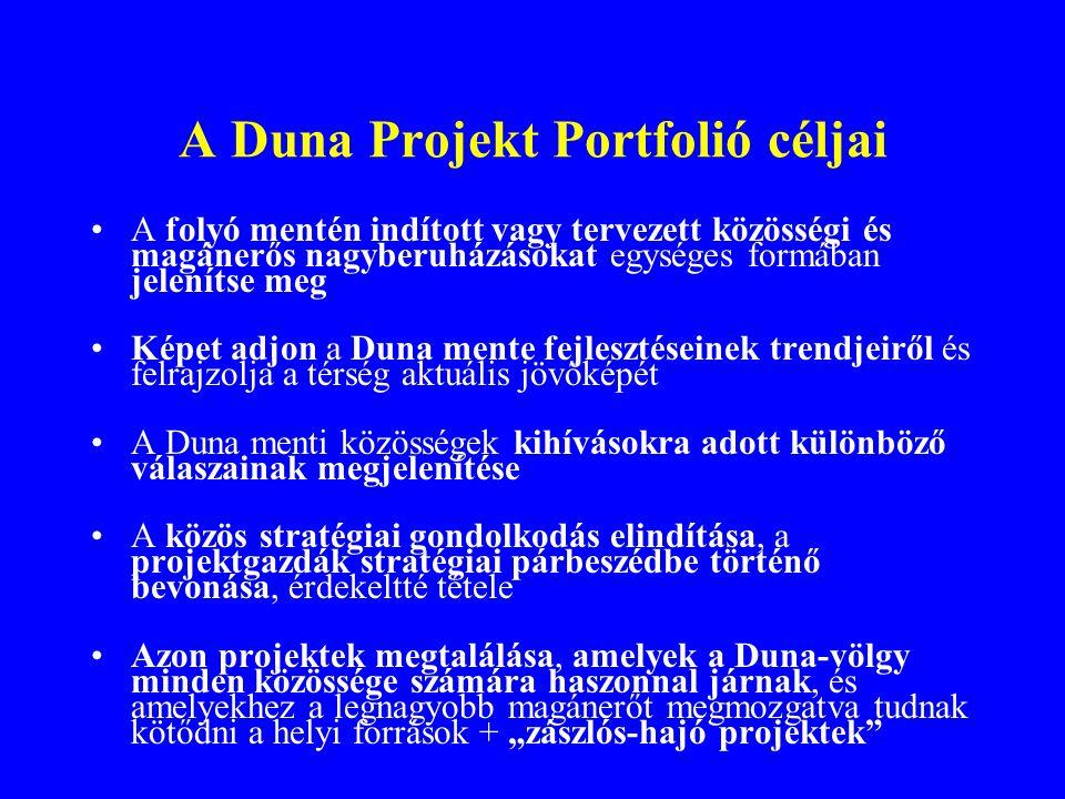 A Duna Projekt Portfolió céljai