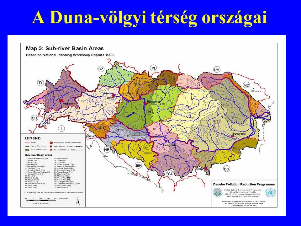 A Duna-völgyi térség országai