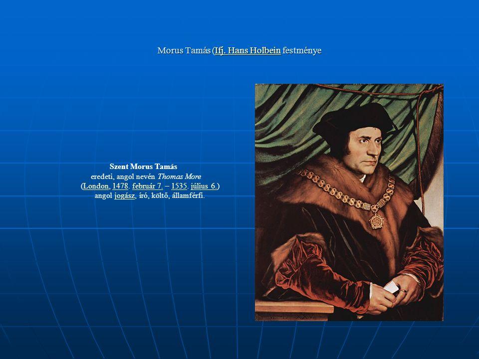 Morus Tamás (Ifj. Hans Holbein festménye