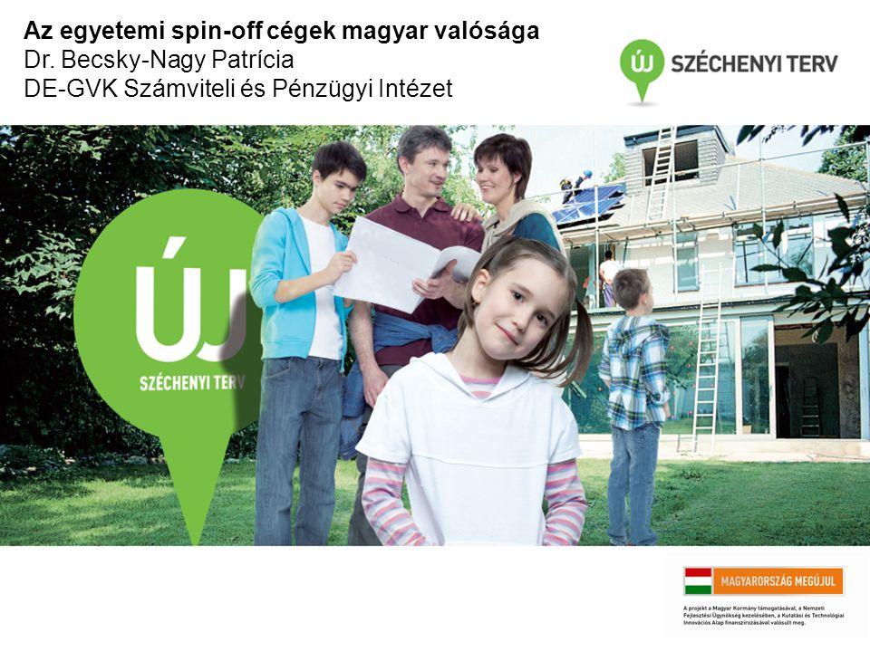 Az egyetemi spin-off cégek magyar valósága