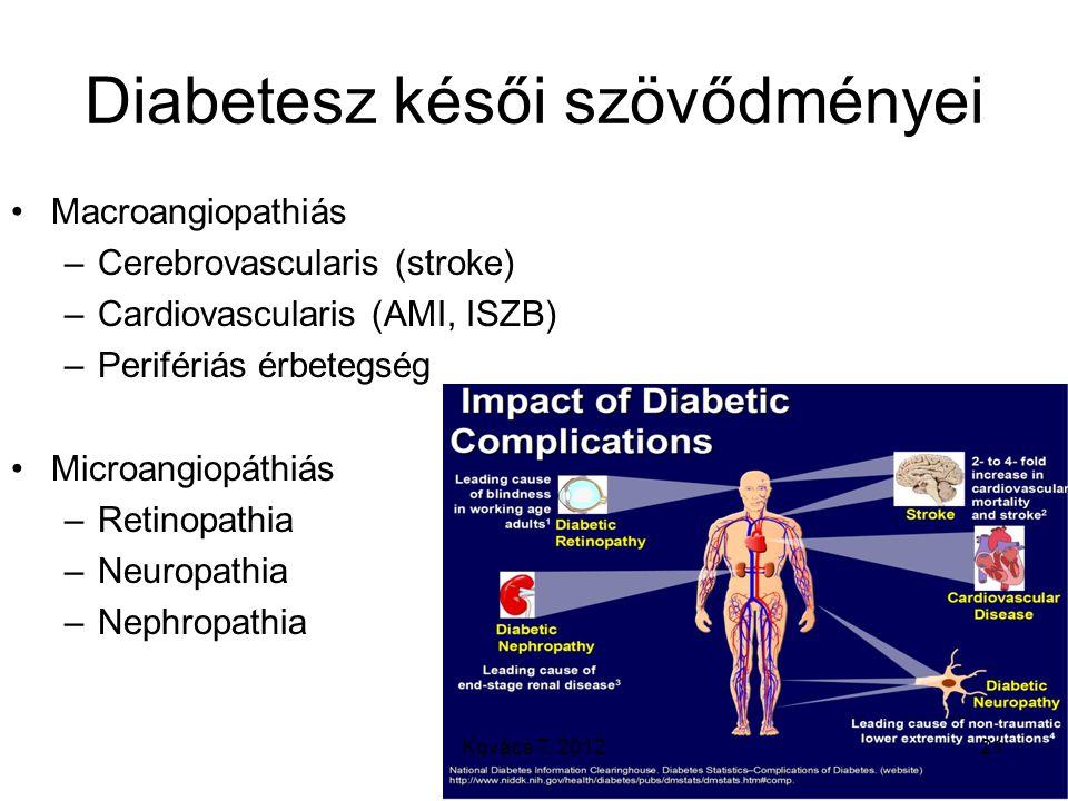 Diabetesz késői szövődményei