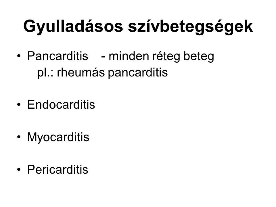 Gyulladásos szívbetegségek