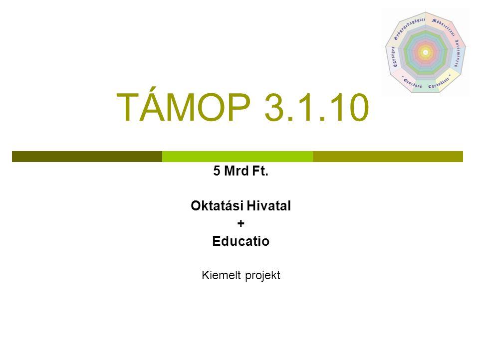 5 Mrd Ft. Oktatási Hivatal + Educatio Kiemelt projekt