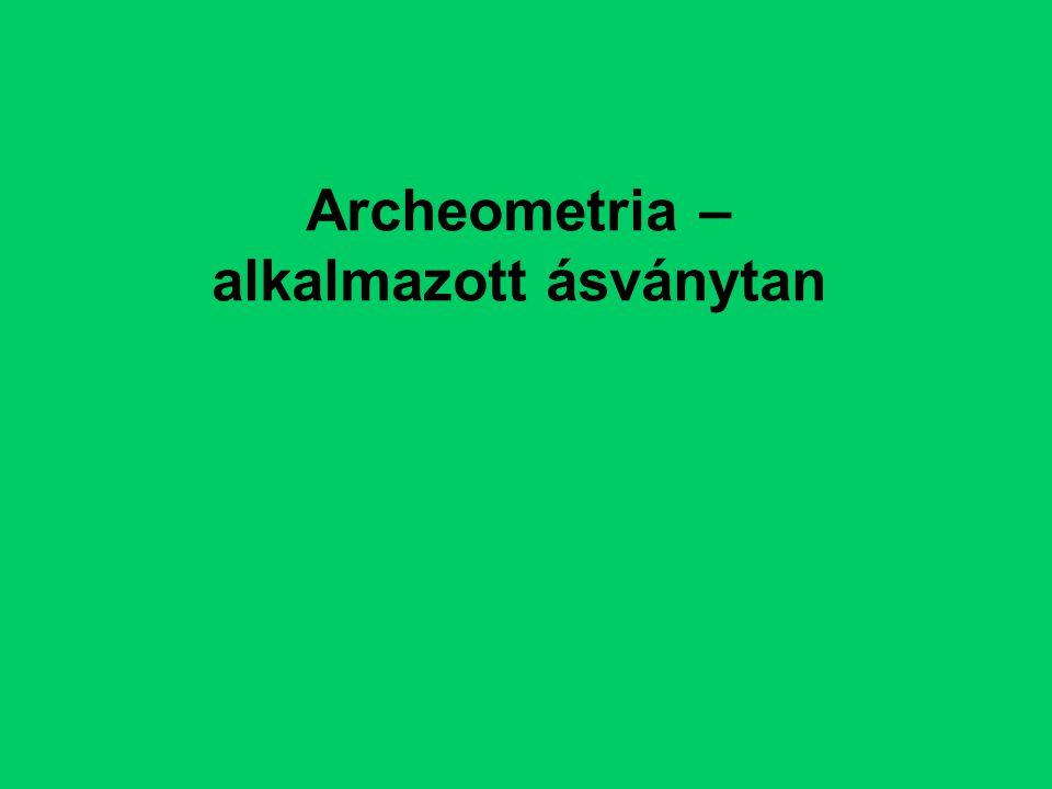 Archeometria – alkalmazott ásványtan