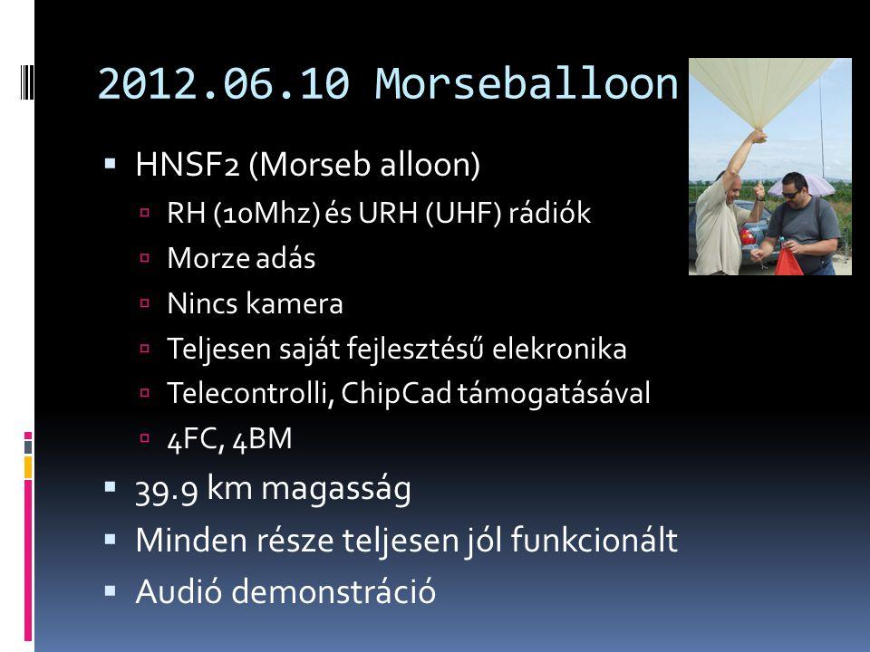 2012.06.10 Morseballoon HNSF2 (Morseb alloon) 39.9 km magasság