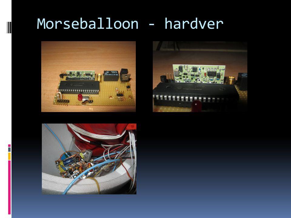 Morseballoon - hardver