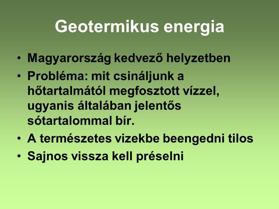 Geotermikus energia Magyarország kedvező helyzetben