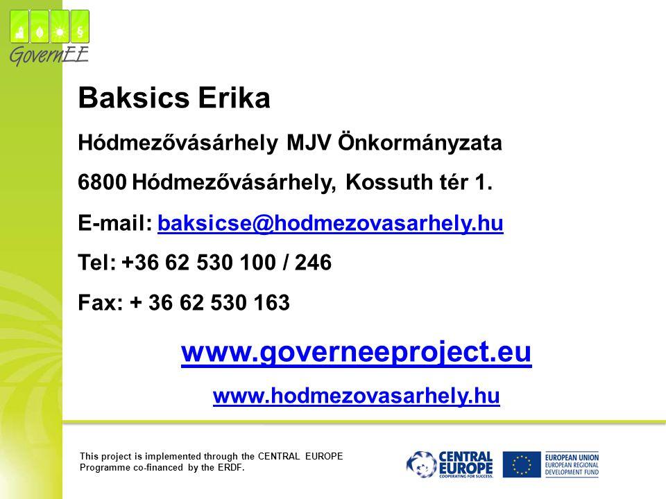 Baksics Erika www.governeeproject.eu
