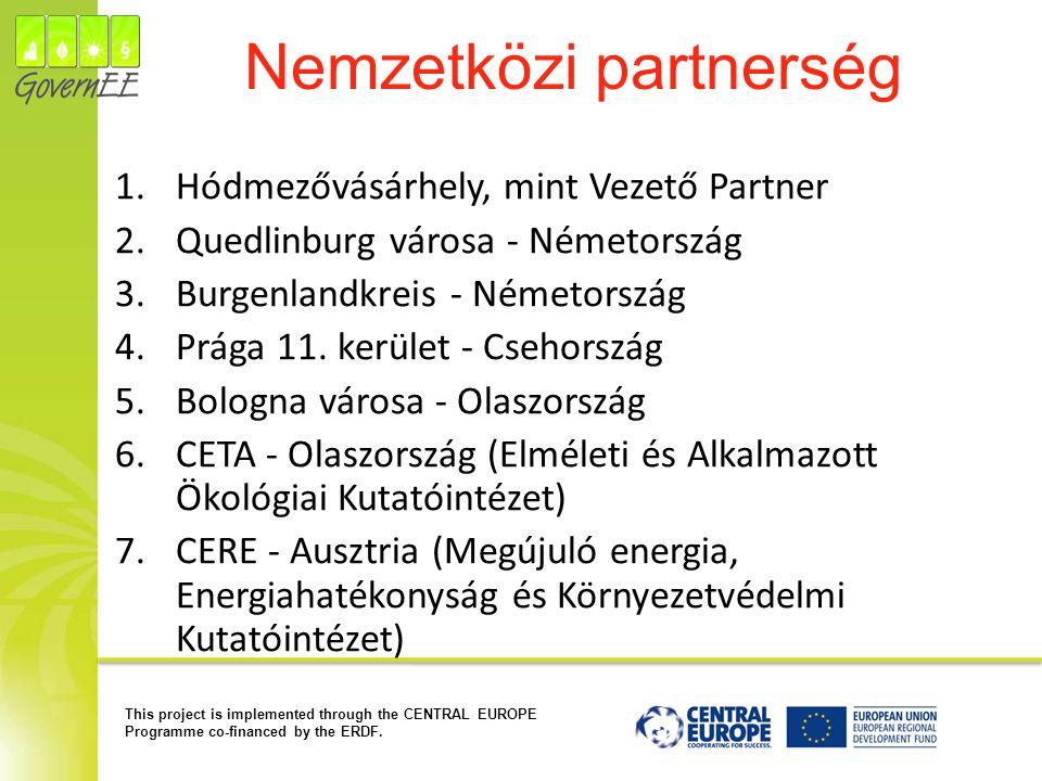 Nemzetközi partnerség