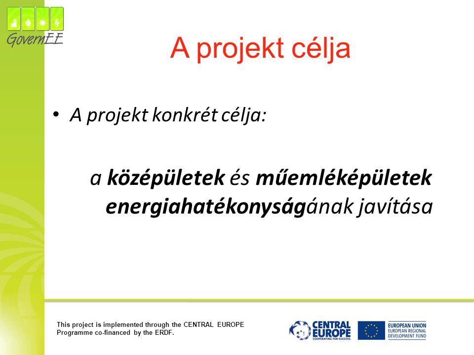 a középületek és műemléképületek energiahatékonyságának javítása