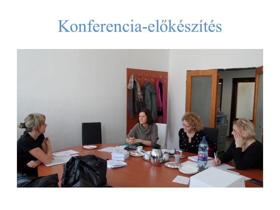 Konferencia-előkészítés