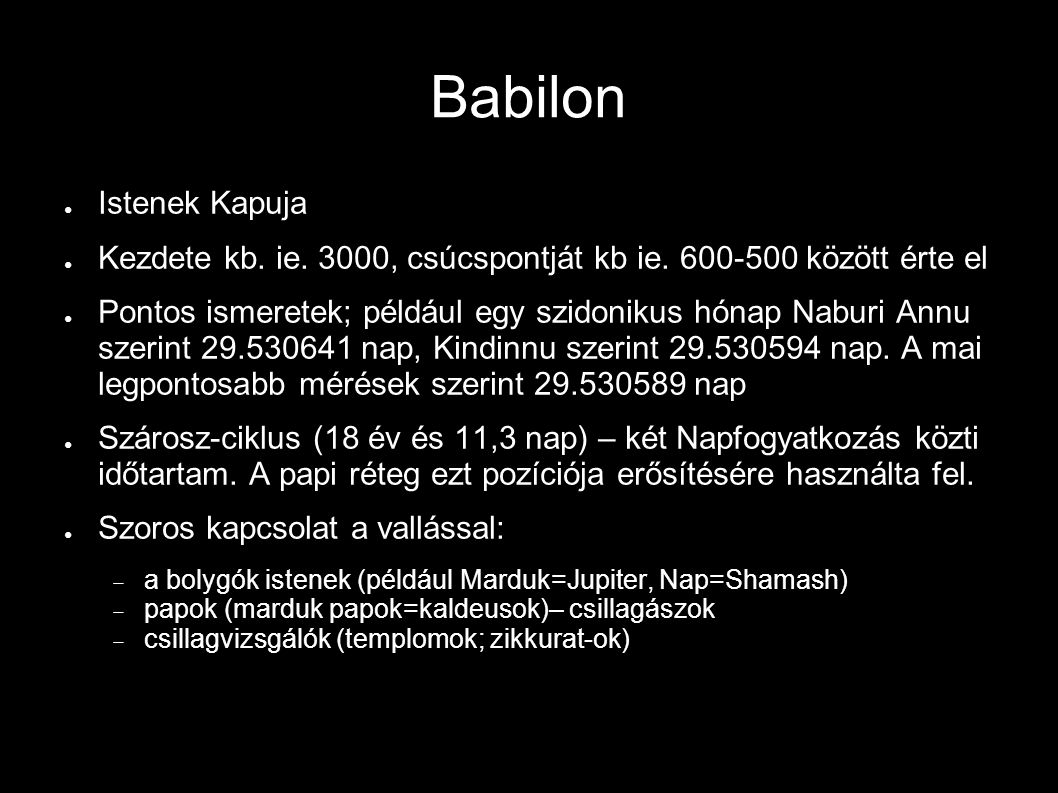 Babilon Istenek Kapuja