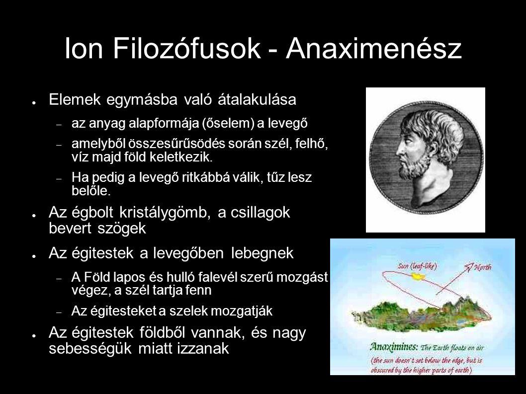 Ion Filozófusok - Anaximenész