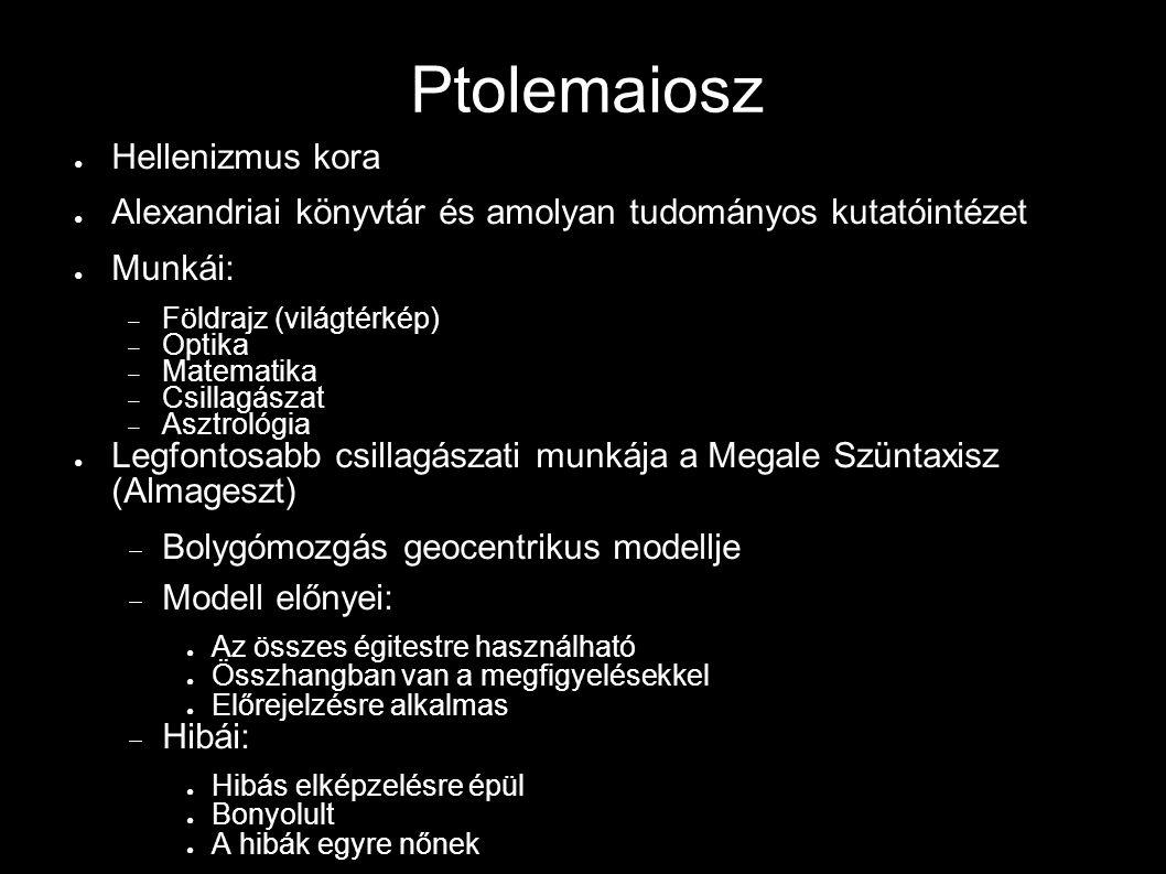 Ptolemaiosz Hellenizmus kora