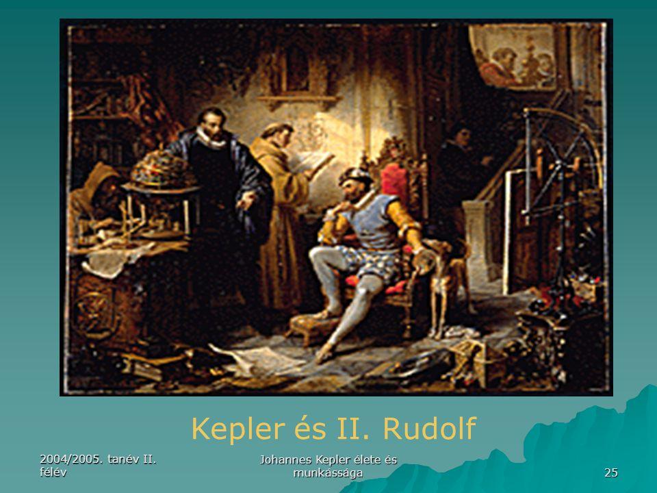 Johannes Kepler élete és munkássága