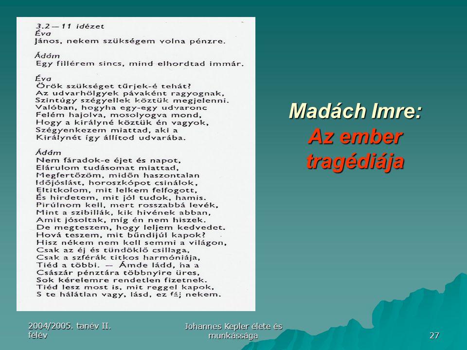 Madách Imre: Az ember tragédiája