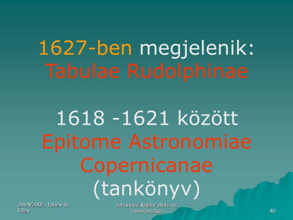 Epitome Astronomiae Copernicanae (tankönyv)