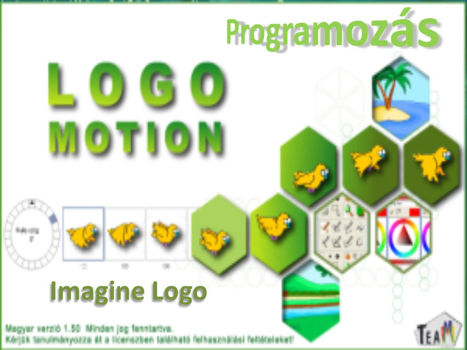 Programozás Imagine Logo