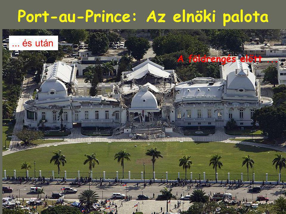 Port-au-Prince: Az elnöki palota