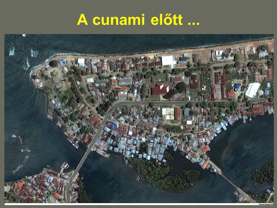 A cunami előtt ...