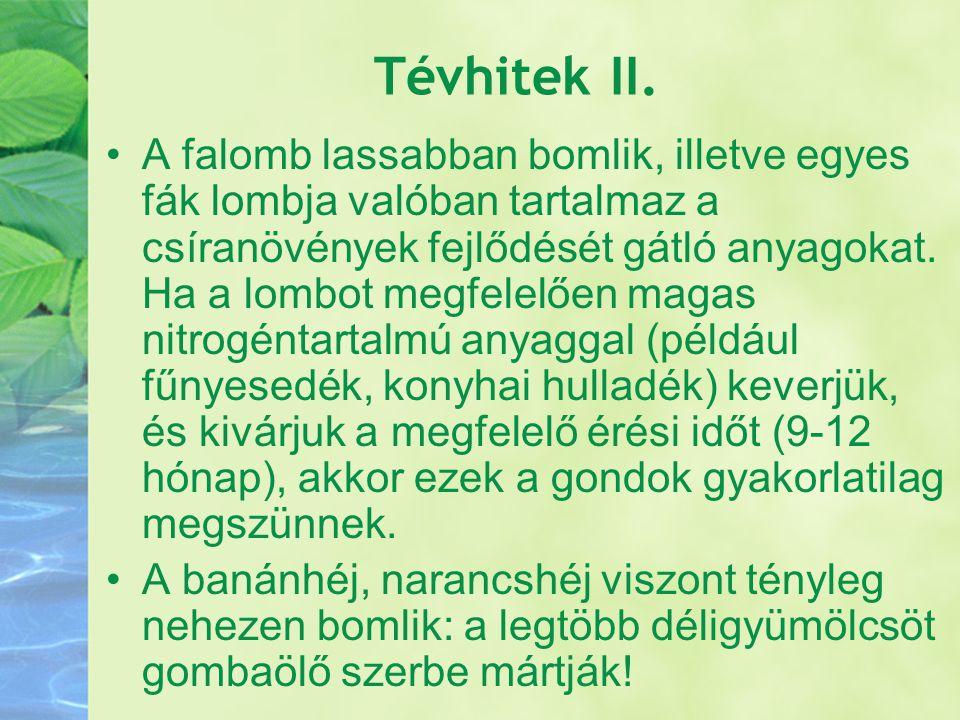 Tévhitek II.